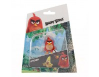 Angry Birds Keychain Red